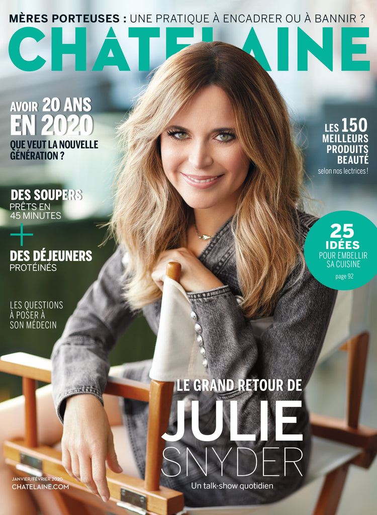 Chatelaine Magazine Quebec - January/February 2020 (en Français)