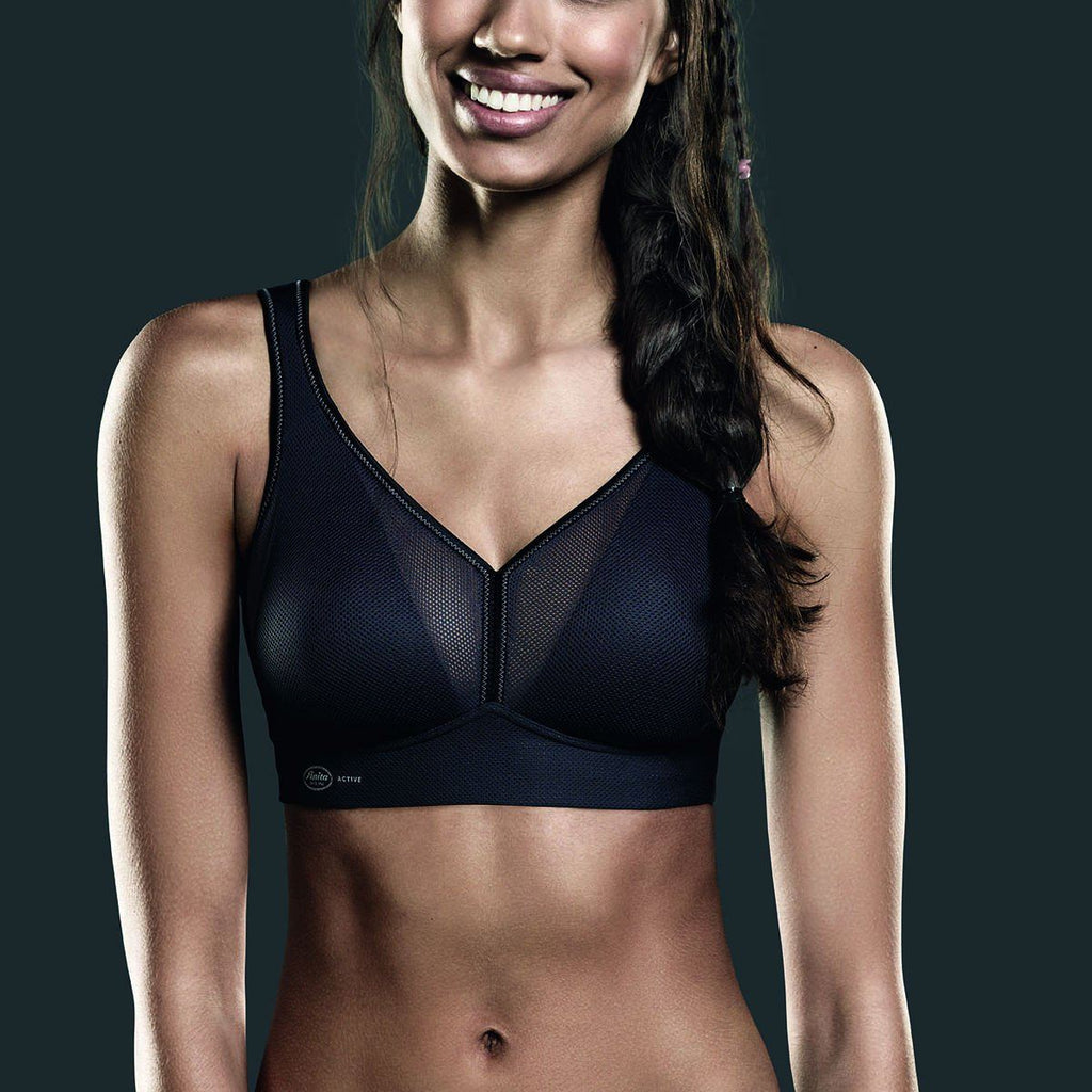 Anita 5544 Air Control DeltaPad Sports Bra in Anthracite grey