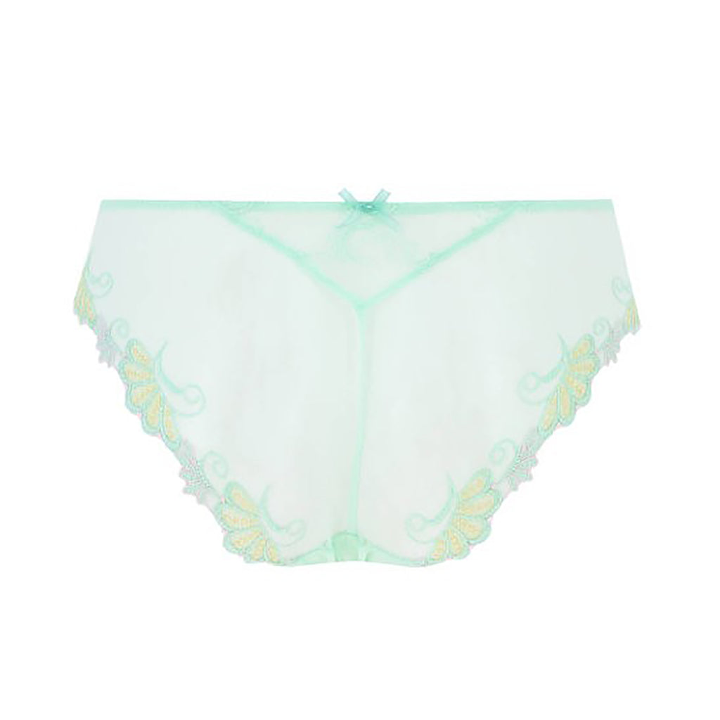 Lise Charmel Dressing Floral Italian Panty ACC0788 in Floral Jade
