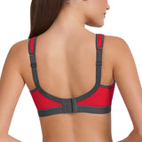 Anita 5529 Momentum Sports Bra in red