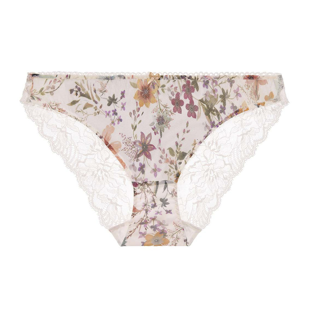 Aubade Reine Des Pres Italian Brief in Ivory PA27