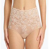 Commando Double-Take High Rise Brief in ivory