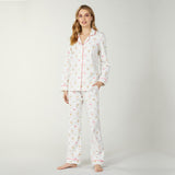 Bed Head Classic Knit PJ Set in Parisian Sweets BH2921251