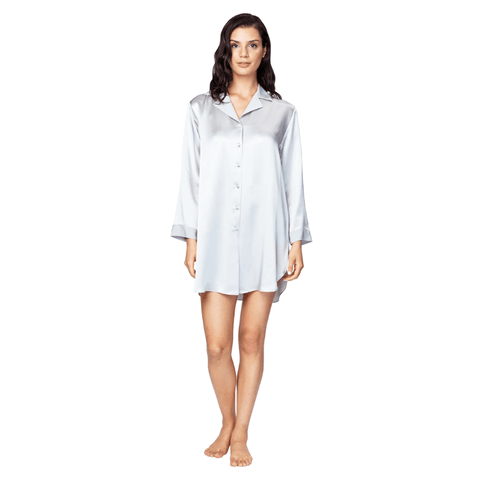 Christine Silk Nightshirt