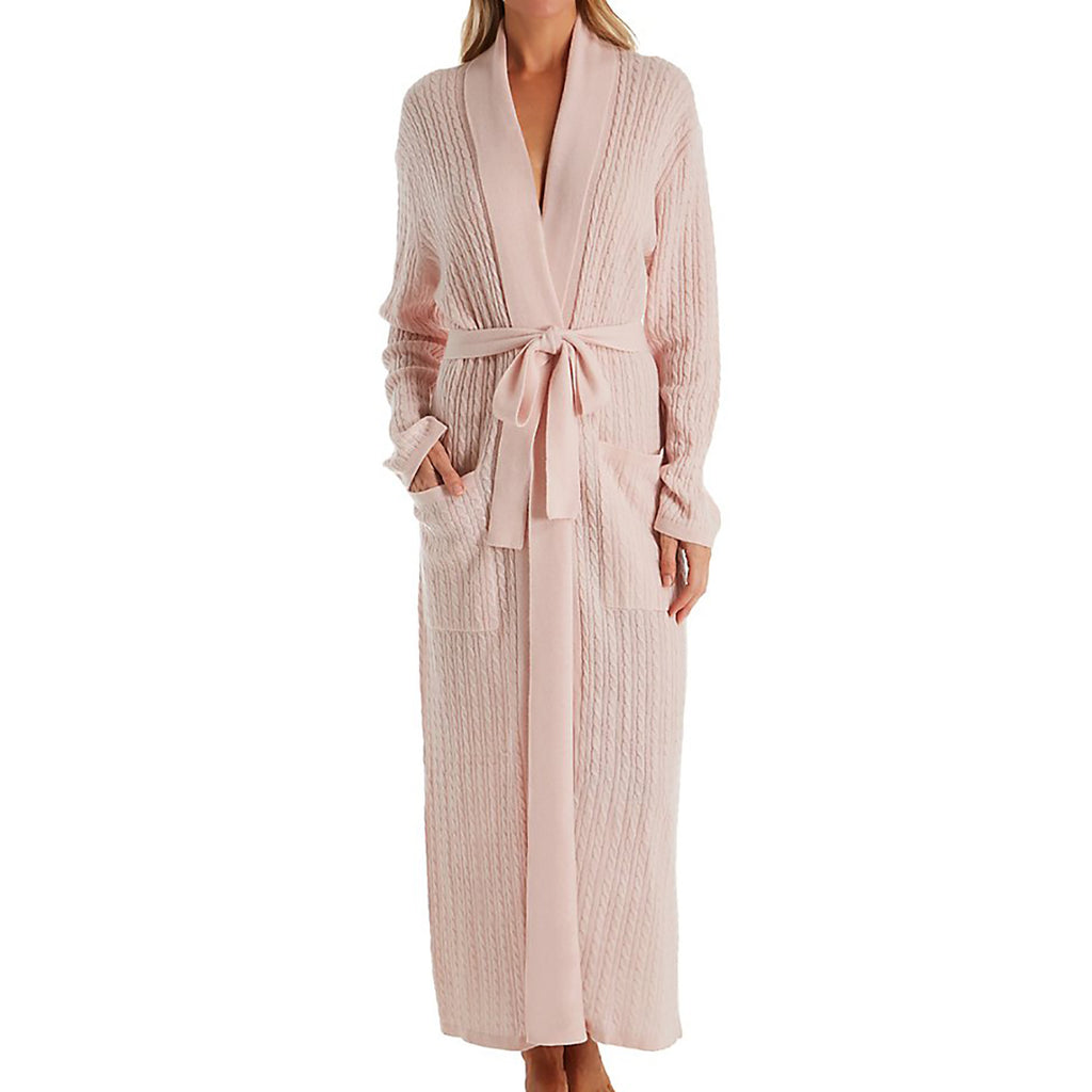 Chris Arlotta Long Cashmere Cable Robe