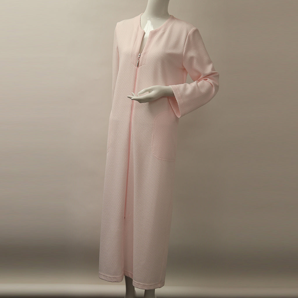 Diamond Tea L/S Long Zip Robe