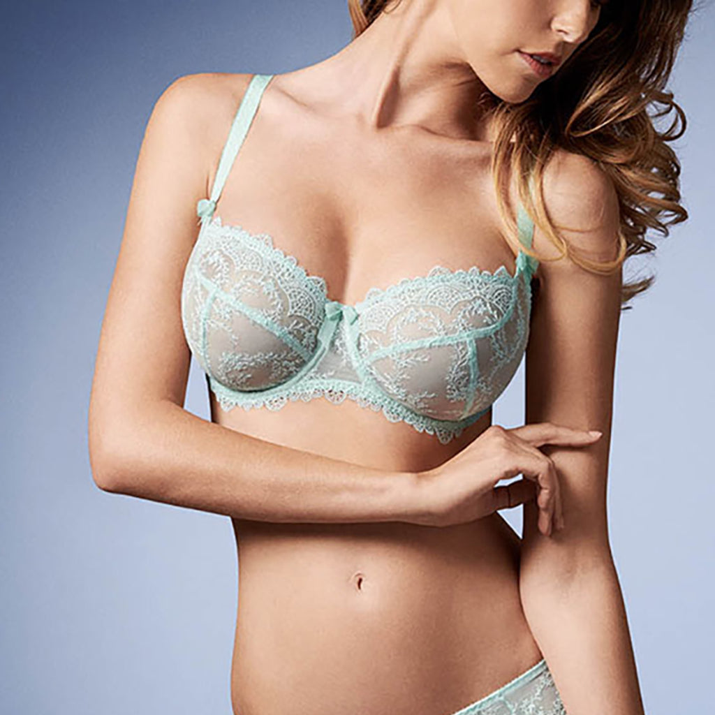 Empreinte 08184 Louise Balcony Cup Bra in Mint
