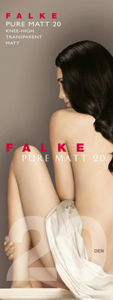 Falke Knee High Pure Matt 20 Denier
