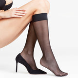 Falke Knee-High Socks in Black 41720