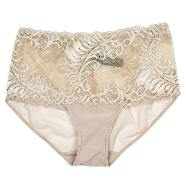 Natori 756023 Feathers Brief in nude cafe
