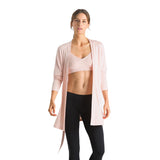 Hanro Yoga Robe in Rose 07 8536