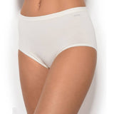 Janira Maxi Queen Brief in White 31643