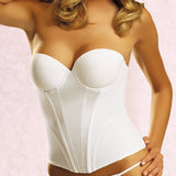 Jezebel Caress Bustier in White
