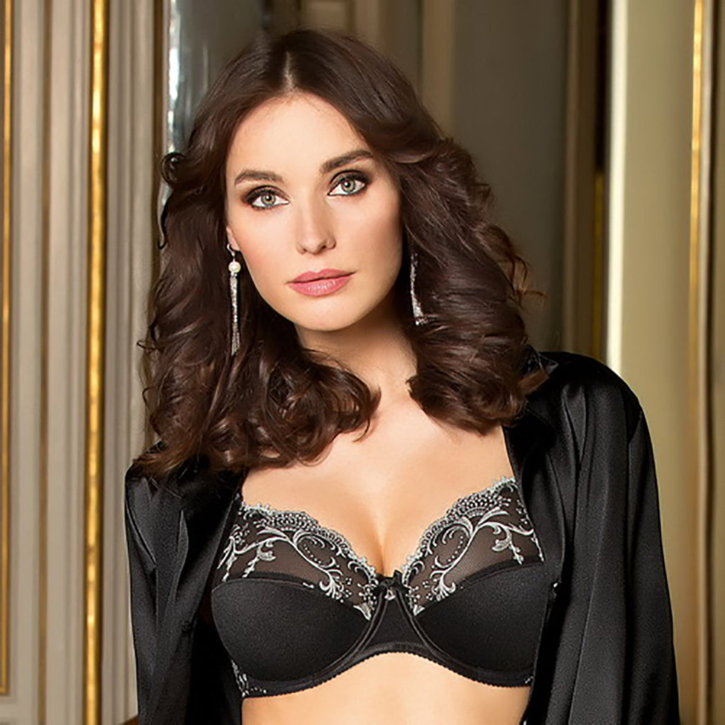 Lise Charmel Splendeur Soie Full Cup Bra ACC6180 in Black