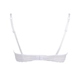 Lise Charmel Affinite Couture Demi Bra ACG3011 in White BACK