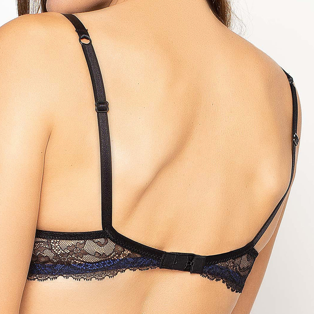Lise Charmel Fete Preciuse Push Up Bra in Black ACG8577