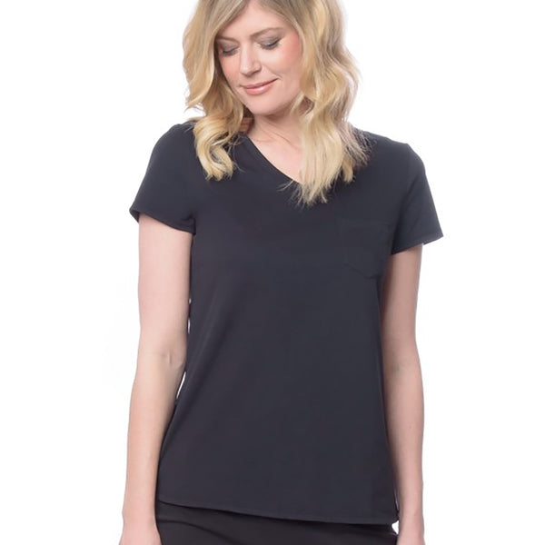 Lusome ES18-215S Alexia Tee in Black
