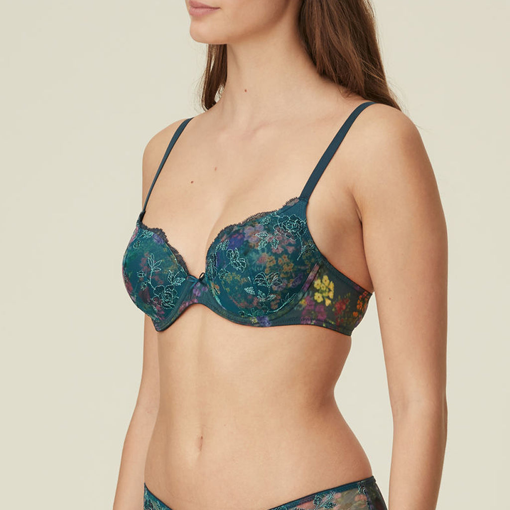 Marie Jo Alice Plunge Bra in Flowers 010-2346
