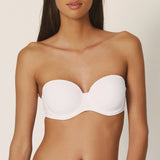 Marie Jo L'aventure Tom Strapless Bra in White 012-0828
