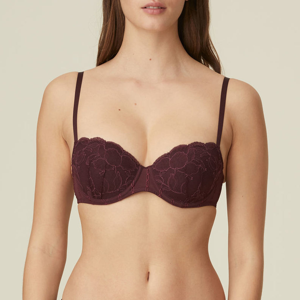 Marie Jo Kate Balcony Bra in Wine 010-2339