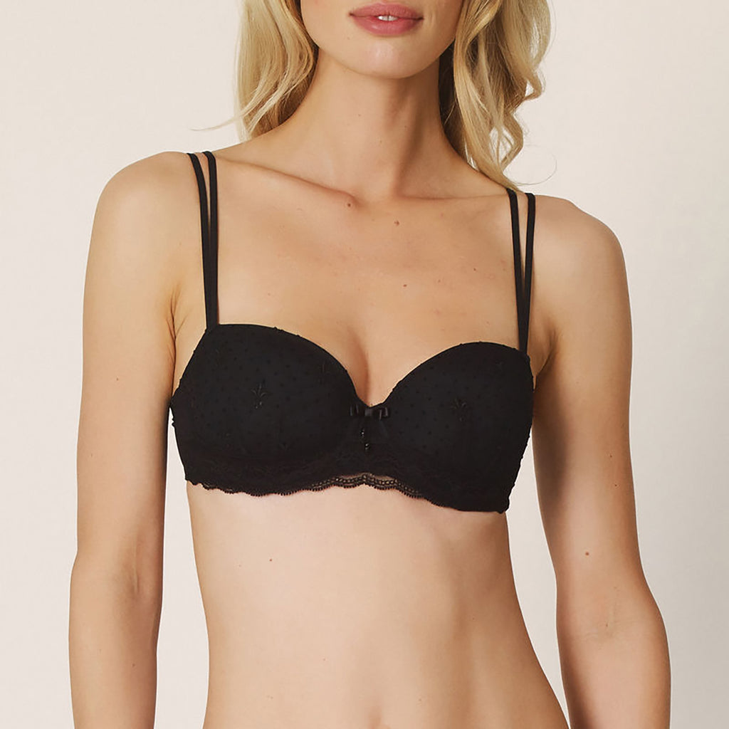 Marie Jo Eirin Balcony Bra in Black