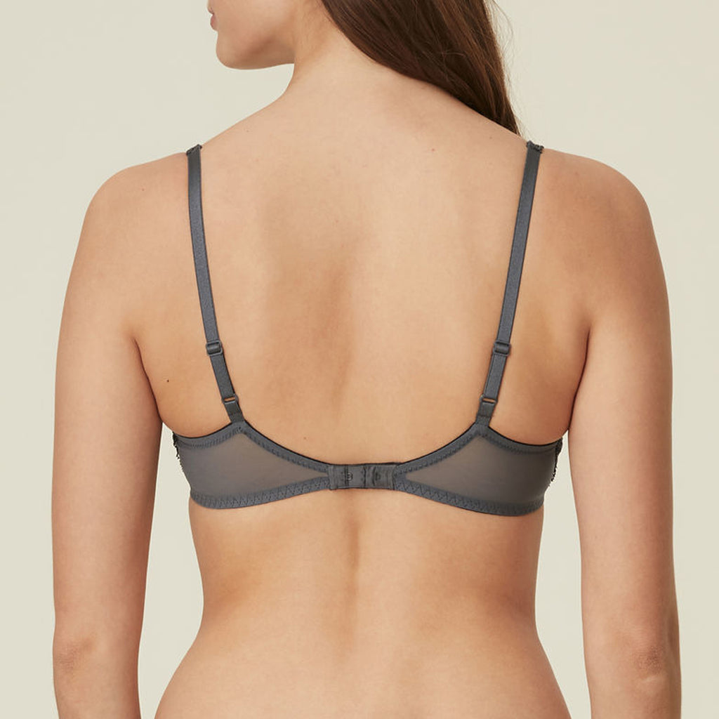 Marie Jo Meryl Balcony Bra in Grey 010-2319