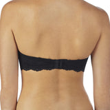 On Gossamer Strapless Bra in Black G3162