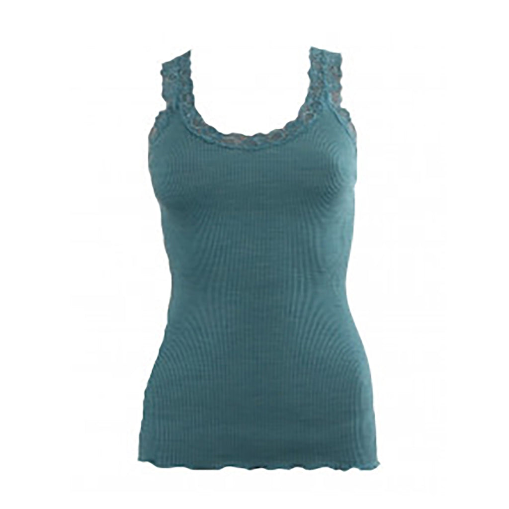 Oscalito Ribbed Tank Top in Paon