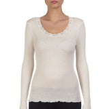 Oscalito Long Sleeve Top in Natural