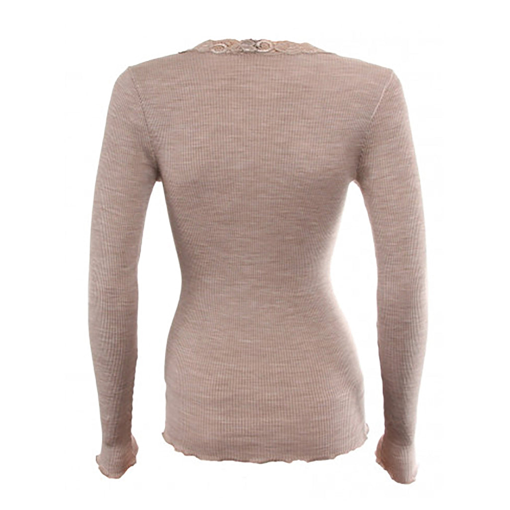 Oscalito Long Sleeve Top in Nutmeg