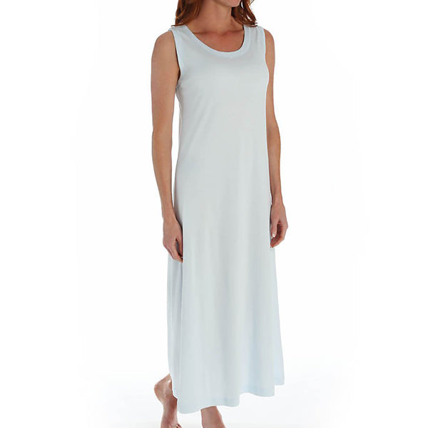 P-Jamas Butterknits Nightgown in Blue