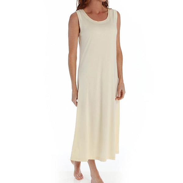 P-Jamas Butterknits Nightgown in Yellow