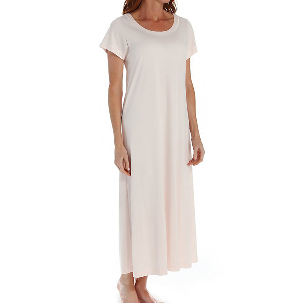 P-Jamas Butterknits Long Nightgown in Pink