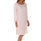P-Jamas Butterknits Short Gown in Pink