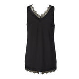 Rosemunde Billie Tank Top in Black