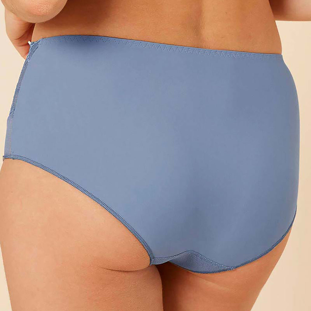 Simone Perele Promesse Retro Brief in platinum blue