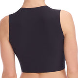Commando Butter Crop Top in black