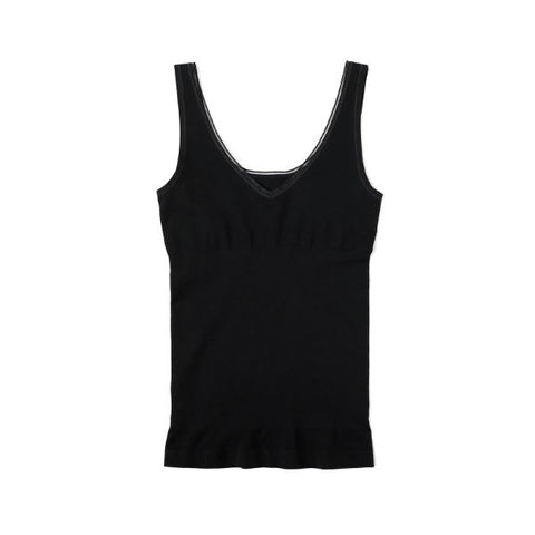 Yummie Seamless Reversible Control Tank in black