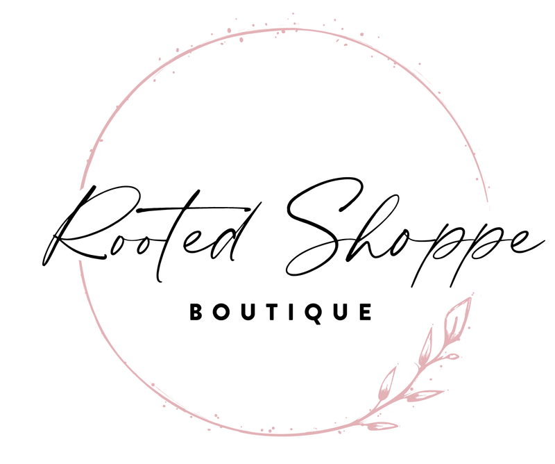 The Rooted Shoppe Boutique Logo