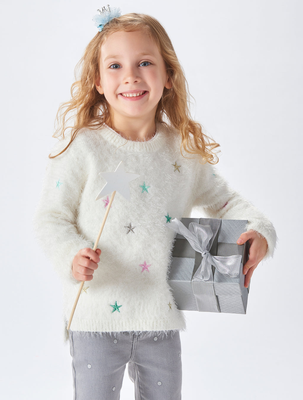 Special Yarn Star Sweater