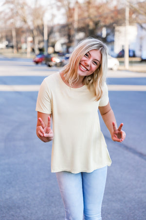 Heart Slouch Top - The Rooted Shoppe