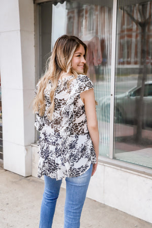 The Blessing Ruffle Top