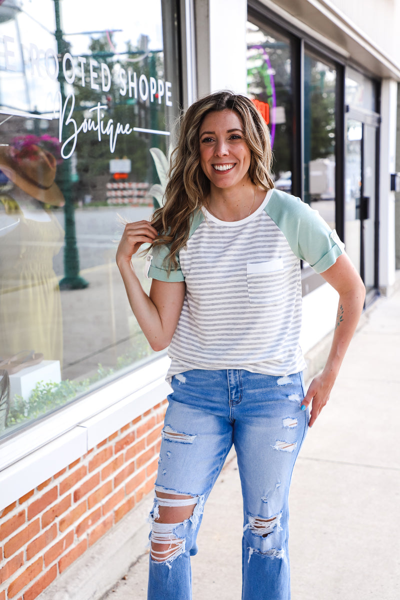 Front Pocket Top - The Rooted Shoppe