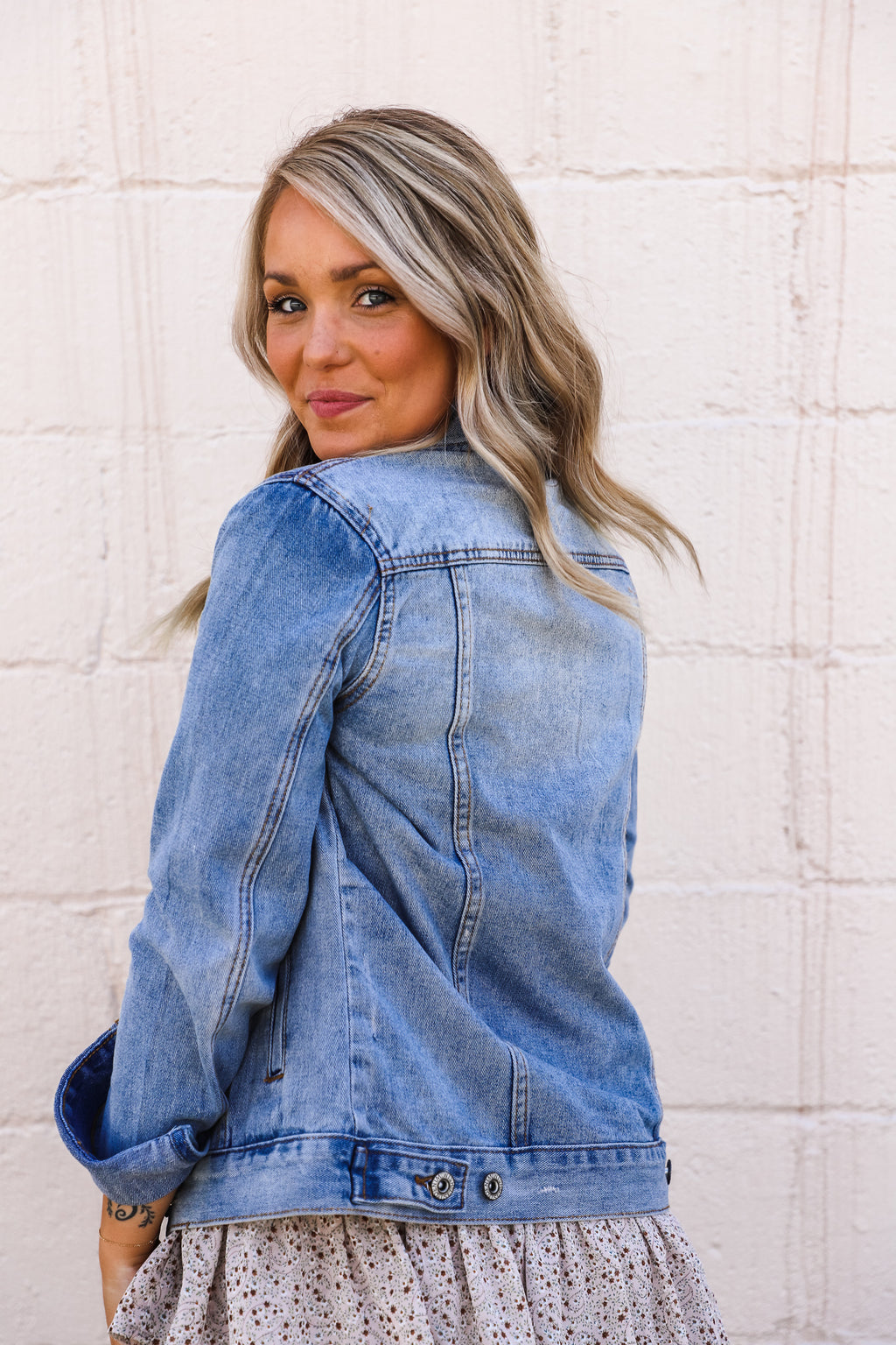 Mercy Floral Top