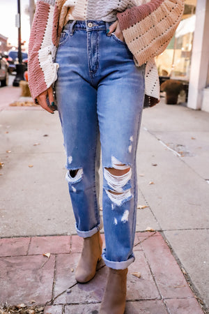 June High Rise 90's Boyfriend Jeans