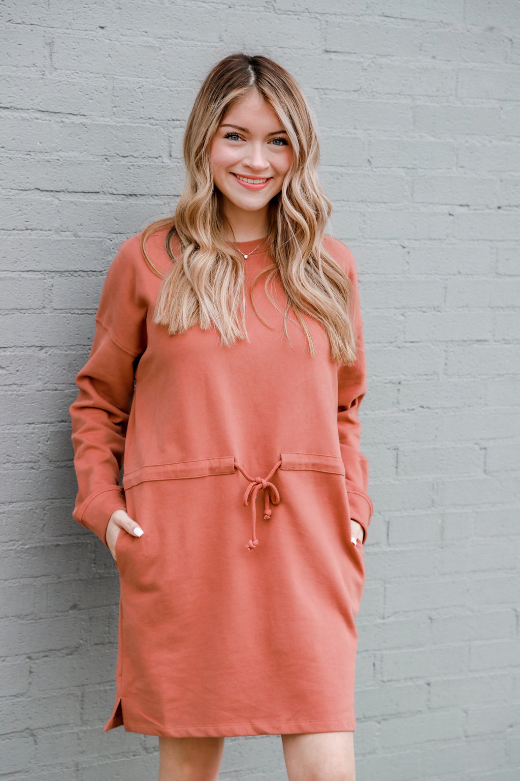 Yield My Heart Sienna Sweater Dress