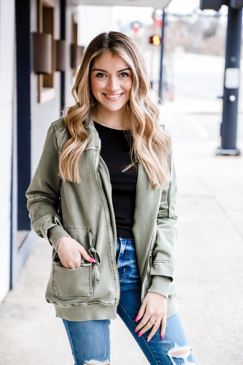 Meet With You Cargo Jacket