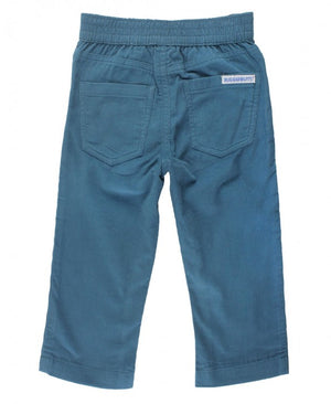Ethereal Blue Straight Corduroy Pants