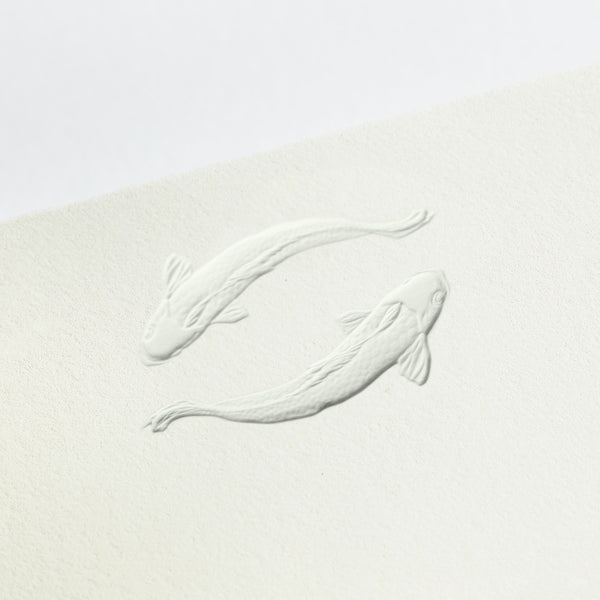 Koi Fish Place Card