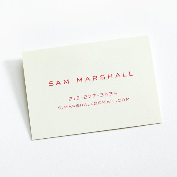 Custom Stationery - Set of 100 - Business Cards / Calling Cards